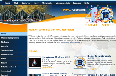 Open de website Mixed hockeyclub Rosmalen
