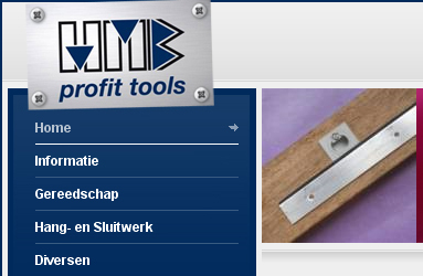 Open de website HMB Profit Tools
