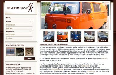 Open de website Kevermagazijn